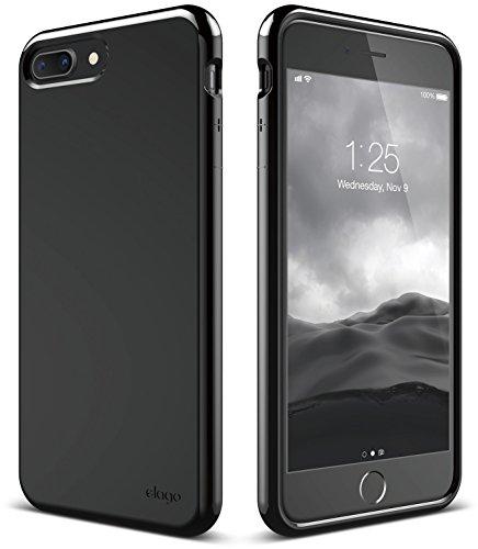 Cheap Cases elago iPhone 8 Plus / iPhone 7 Plus Case [Cushion][Jet Black] -..