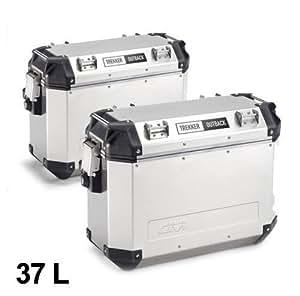 Givi maleta lateral aluminio Kit Trekker Interior 37L Monokey