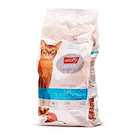 WOOFFY Pienso para Gato Premium 3 kg. Pienso Premium Gato: Amazon ...