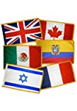 Cheap 6 ft. x 10 ft. U.N. Member Flag Set For Indoor w/ Fringe