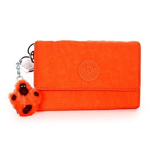 Kipling Pixi Medium Wallet Deep Tangerine