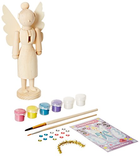 MasterPieces Works of Ahhh Nutcracker Angel Large Wood Paint Kit