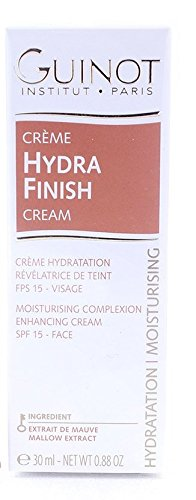 Creme Hydra Finish Face Moisturiser Complexion Enhancer SPF15 - 30ml/0.88oz Guinot 506870