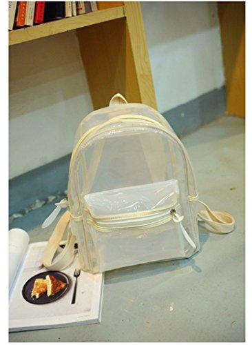 Drasawee - Bolso mochila  para mujer amarillo amarillo talla única beige