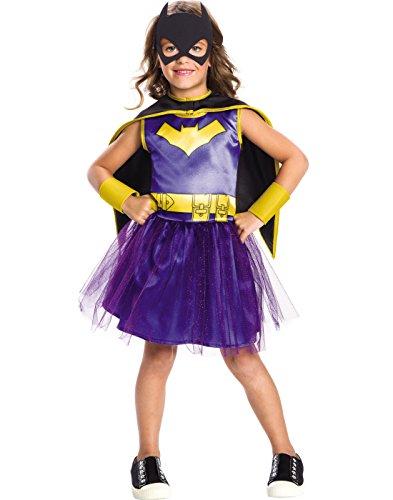 Rubie's Costume Girls DC Comics Batgirl Tutu Dress Costume, Medium, -