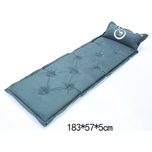 YOPEEN Zelt Schlafmatte, Außenluftkissen, Dickes einzelnes aufblasbares Bett, Feuchtigkeitskissen, Büromittagessenauflage, Automatische Luftmatratze, G
