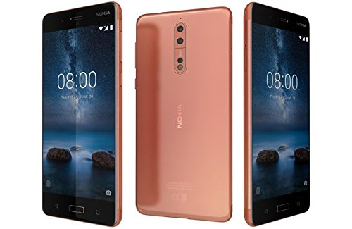 "Nokia 8 TA-1052 64GB Polished Copper, Dual Sim, 5.4"", 4GB RA"