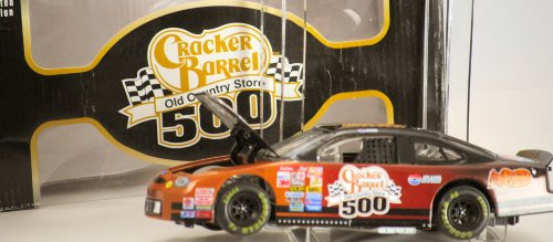 2000-action-nascar-cracker-barrel-500-old-country-store-ford-tarus-124-scale-diecast-stock-car-1-of-