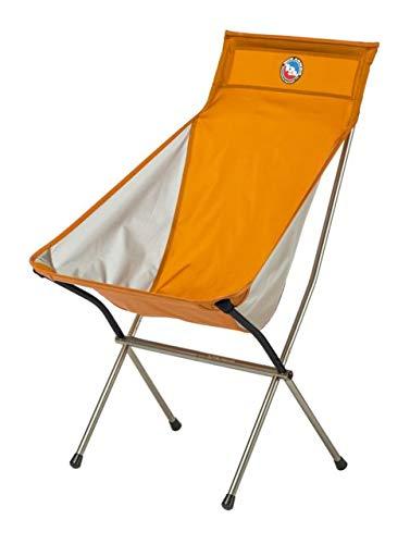 Big Agnes Big Six Camp Chair, Orange/Gray