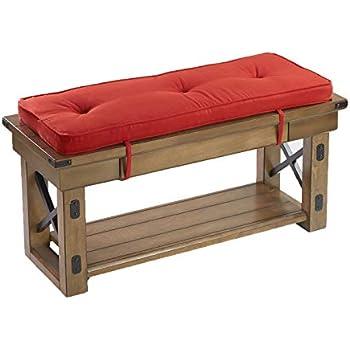 Amazoncom The Morgan Bench Cushion 385 X 124 Home Kitchen