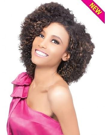Amazoncom Outre Velvet Remi Human Hair Luxy Curl 3pcs 1b