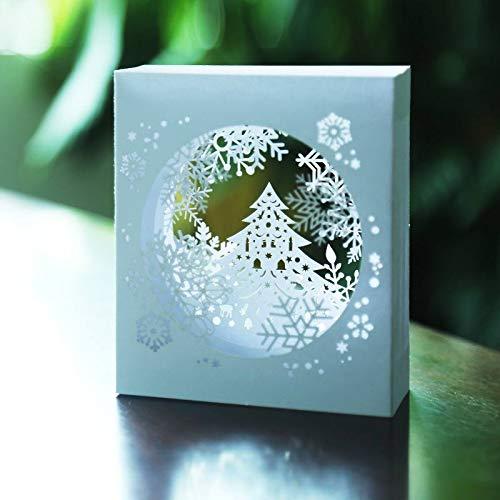 Cards & Invitations - 1 Pcs Handmade Merry Christmas Greeting Card 3d Pop Up Tree Box Snowflake Craft Holiday Invitation - Card Box Gift 3d Card Tree Box Card Flower Card Box Card Box Birt