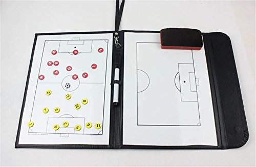 Crazy Shopping® Football soccer Coach Tactical Plate Tactics Board Magnetic Board