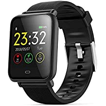 Smart Band Activity Tracker Fitness Bracelet Color Screen Waterproof Heart Rate Blood Pressure Monitor Watches Smart Wristband Bluetooth Smartwatch for iOS Android