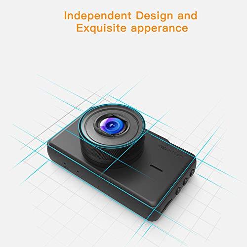 "APEMAN FHD DVR Recorder 3"" 170°Wide Angle, G-Sensor, Parking Loop Recording, Motion Detection"