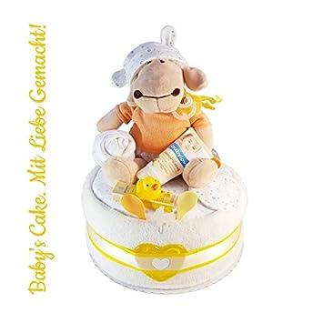 Taufe Windeltorte NeutralDiaper Cake Babys Cake Baby