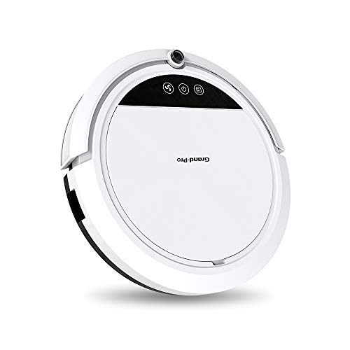- Grand-Pro S1 Robot Vacuum Cleaner for Pet Hair Robot Vacuum Mop Combo, Auto Vacuum Robot Self-Charging, Powerful Suction 1400pa, Good for Hard Floor and Short-haired Carpet.