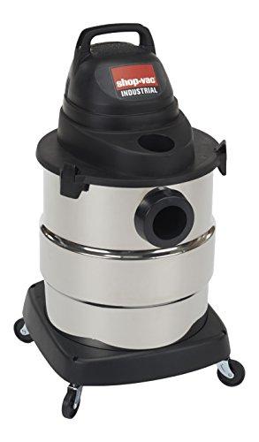 Shop-Vac 6000110 4.5 Peak HP Stainless Steel Wet Dry Vacuum,