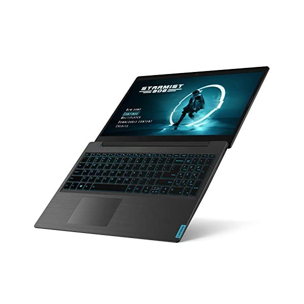 Lenovo Ideapad L340 Gaming Laptop, 15.6 Inch FHD (1920 X 1080) IPS Display 81LK00HDUS, Black with SteelSeries QcK Gaming… 3
