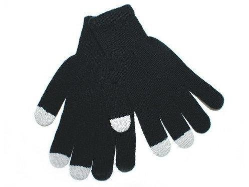 Touch Screen Gloves - Brand New Black, 3-Tip , Stylish, Warm, and Sleek ~ Winter Gloves ~