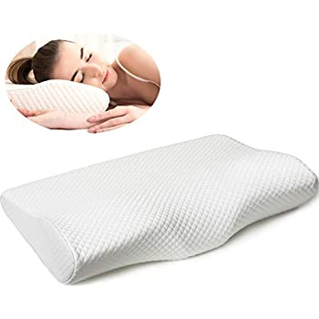 Amazon Com Dual Plus Ergonomic Pillow Durable