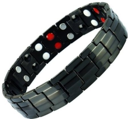 Anion Magnetic Energy Germanium Power Bracelet Health 4in1 Bio Armband TITANIUM - Titanium Arm