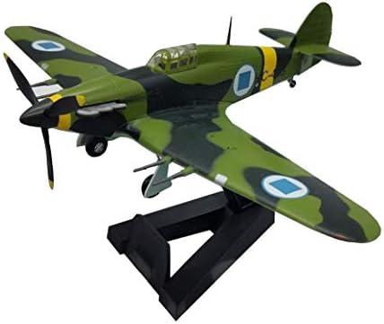 1/72スケール戦闘機モデル、軍事スターリングファイターメタルモデル、アダルトグッズやギフト、6.6Inch X5.3Inch