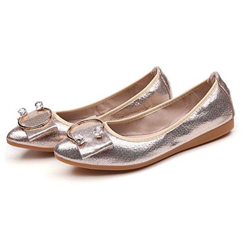 mediana Donyyyy de fondo de personas casual mujeres solo Forty edad plano mujer zapatos y ATAZ4qPr