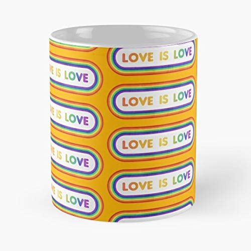 Asos Hipster - Gay Pride Love Wins Mugs Best Gift