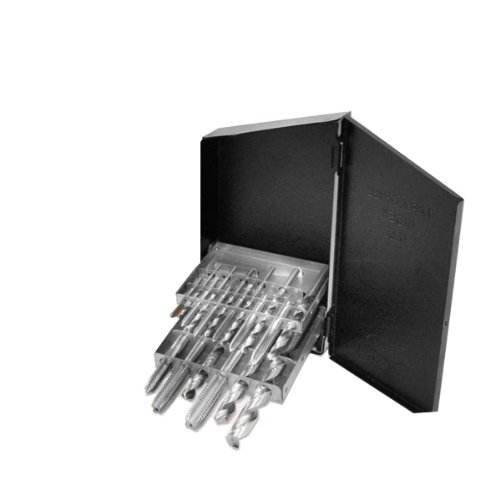 Neiko Pro 10138B Coarse Tap and Drill Bit Set, 18 Piece | M2 Steel