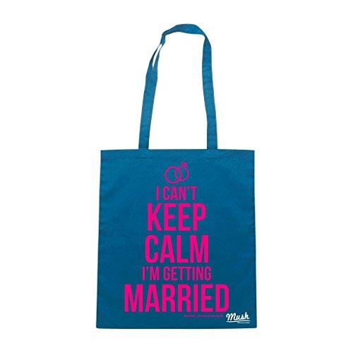 Borsa Wedding Matrimonio Sposi 5 - Blu Royal - Mush by Mush Dress Your Style