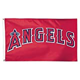 WinCraft MLB Angels 01756215 Deluxe Flag, 3' x 5'