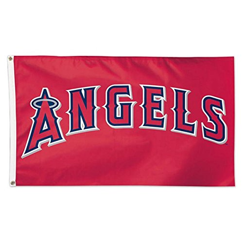 Angels Flag (MLB Angels 01756215 Deluxe Flag, 3' x 5')
