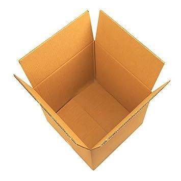 Rustiluz Pack 10 cajas de cartón grande. Doble 60 x 60 x 60 cm. Marrón. Muy resistente.: Amazon.es: Hogar