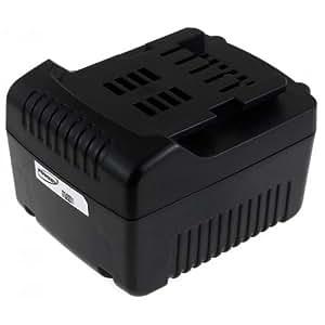 Batería de ión-litio para Metabo Lámpara universal con batería, ULA 14. 4-18-14,4 Volt 14,4 V, Li-Ion, [-Batería para herramientas electroportátiles]