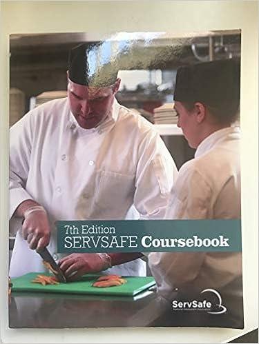 SERVSAFE COURSEBOOK 7TH ED ENGLISH National Restaurant