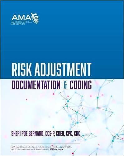 Risk Adjustment Documentation Coding 9781622027330