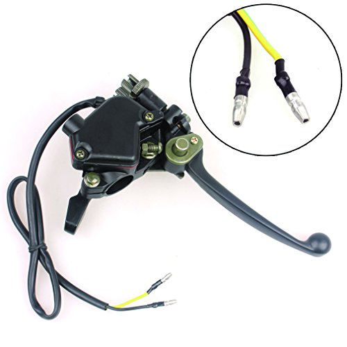 Wingsmoto Thumb Throttle with Dual Brake Lever Assy for 50cc 90cc 150cc 250cc ATV Quad Roketa Taotao Sunl Kazuma