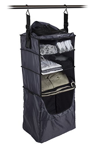 Gray Portable Gear - RISE Portable Shelving Luggage Insert, Gear (Grey)