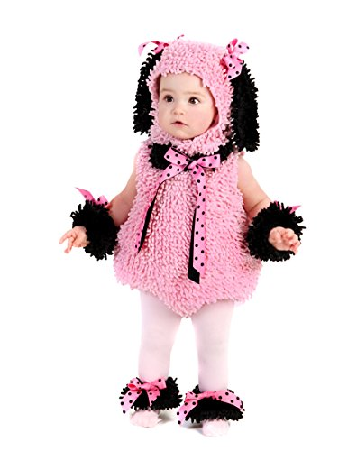 [Pinkie Poodle Costume] (Puppy Dog Baby Costume)