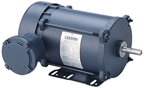 Leeson 111938.00 Rigid Base Explosion-Proof Motor, 3 Phase, 56 Frame, Rigid Mounting, 1/2HP, 1200 RPM, 208-230/460V Voltage, 60/50Hz Fequency