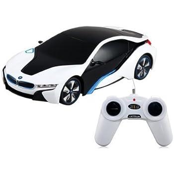 BMW i8 Concept Radio Remote Control RC Sports Car 1:24 Scale Model Car
