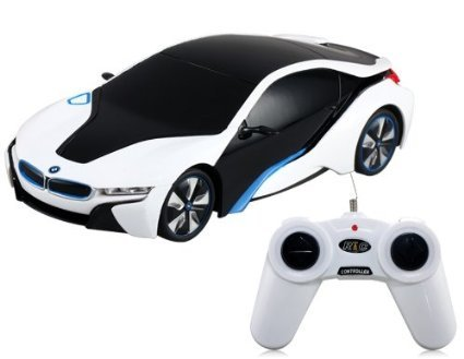 BMW i8 Concept Radio Remote Control RC Sports Car 1:24 Scale Model Car