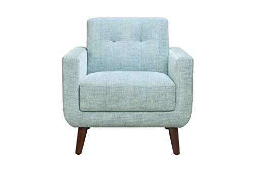 Ross Accent Chair City Blue Dimensions 33''W x 32''D x 34''H Weight 38 lbs by Moe's Home Collection