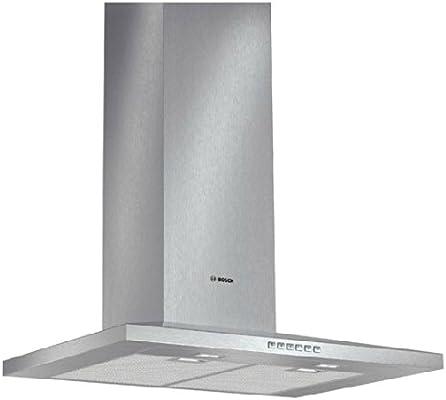 Bosch DWW077A50 - Campana (Canalizado/Recirculación, 710 m³/h, 360 m³/h, Montado en pared, LED, 745 Lux) Acero inoxidable: Amazon.es: Hogar