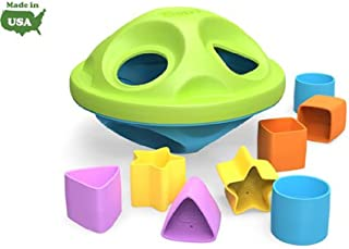 product image for Green Toys My First Green Toys Shape Sorter with 6 colorful shapes 6+ months (a)