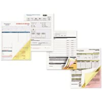Carbonless Paper, 3-Part Reverse, 8-1/2 X 11, Pink/Canary/White, 1670