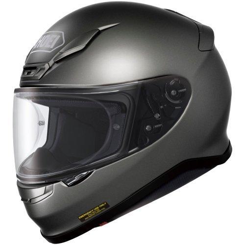 Shoei Metallic RF-1200 Street Racing Helmet - Anthracite/Medium
