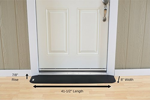 EZEdge Transition Threshold Ramp For a Door Sill, 7/8'' Rise, 7/8'' x 8'' x 41½'' by EZEdge (Image #3)