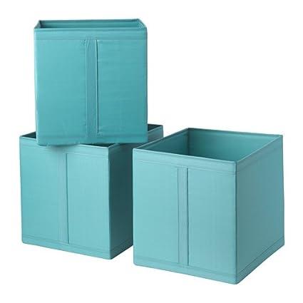 IKEA SKUBB caja juego de 3 luz azul 303.239.56